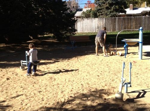 Sand Area