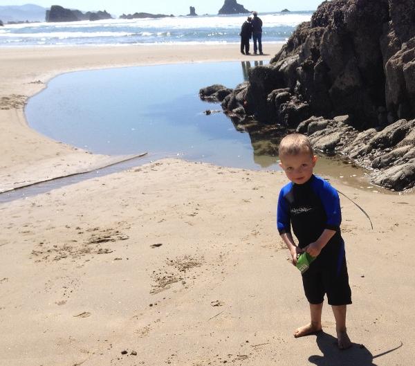 Calvin at Indian Beach