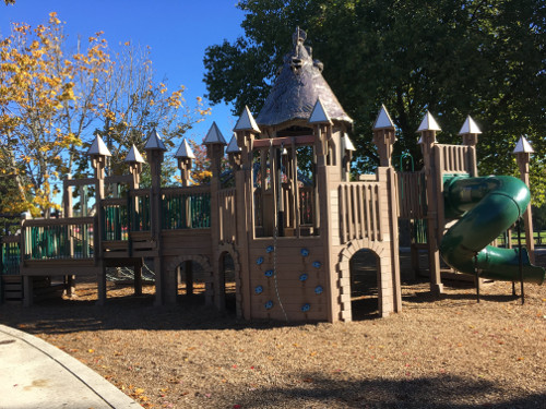 5-12 Castle Playground Structure
