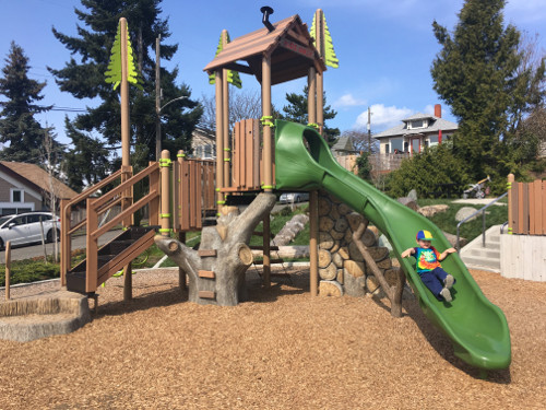 Main playground equipment
