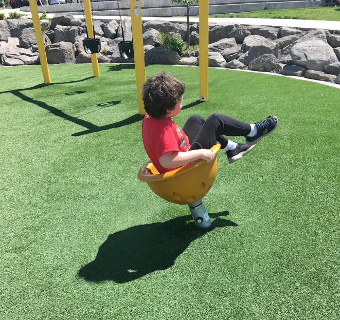 Calvin spinning.